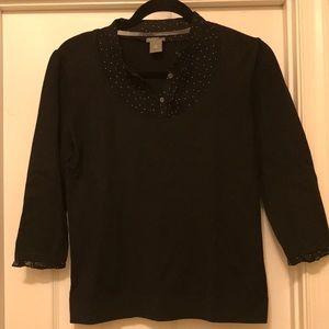 Ann Taylor shirt/sweater combo
